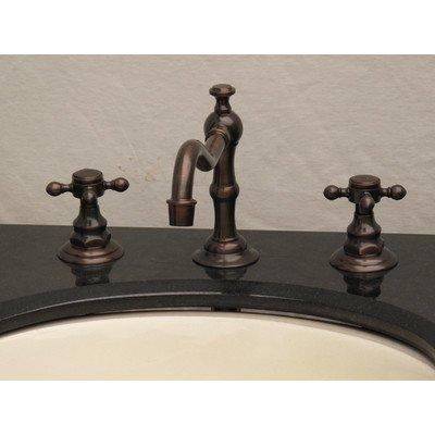 OIL RUBBED WIDESPREAD FAUCET
