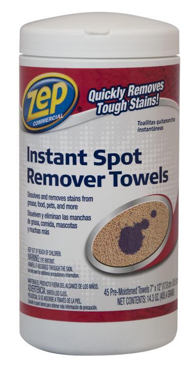 SPOT REMOVER TOWELS
