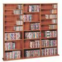 Oak Veneer High Capacity Wall Rack (CDV-1500 Series)