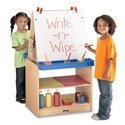Rainbow Accents 2 Station Easel - Black