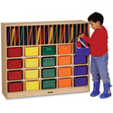 Classroom Organizer- 20 - With Colored Trays