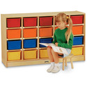 Jonti-craft 20 Tray Mobile Cubbie Without Trays