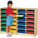 24 Paper-tray Cubbie Without Paper-trays