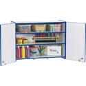 Rainbow Accents Lockable Wall Cabinet
