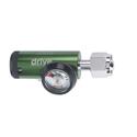 CGA 540 Mini Oxygen Regulator 0-8 LPM DISS Outlet