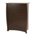 South Shore Beehive 4-Drawer Chest