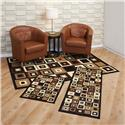 Capri 3 Piece Rug Set-SW Tiles