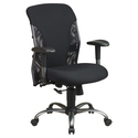 Mesh Mid Back Chair with Titanium Finish