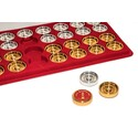 Gold Backgammon Checkers