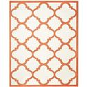 Contemporary Rug - Amherst Polypropylene -Beige/Orange