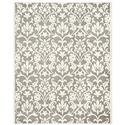 Traditional Rug - Amherst Polypropylene -Dark Grey/Beige