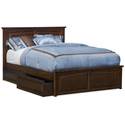 Monterey Bed w /Raised Panel Footboard