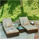 Lantis 3-Piece All-Weather Wicker Pool Side Lounge Set