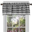 Buffalo Check Window Curtain Valance