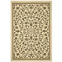 Transitional Rug - Courtyard 6000 Polypropylene -Natural/Brown