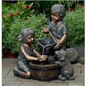 fcl066_two_kids_and_dog_outdoor_indoor_water_.Jpeg