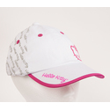 Hello Kitty Sports Premier Collection Script Hat - White/Magenta