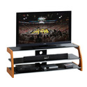 Techni Mobili Black Glass TV Stand for LCD TVs up to 65